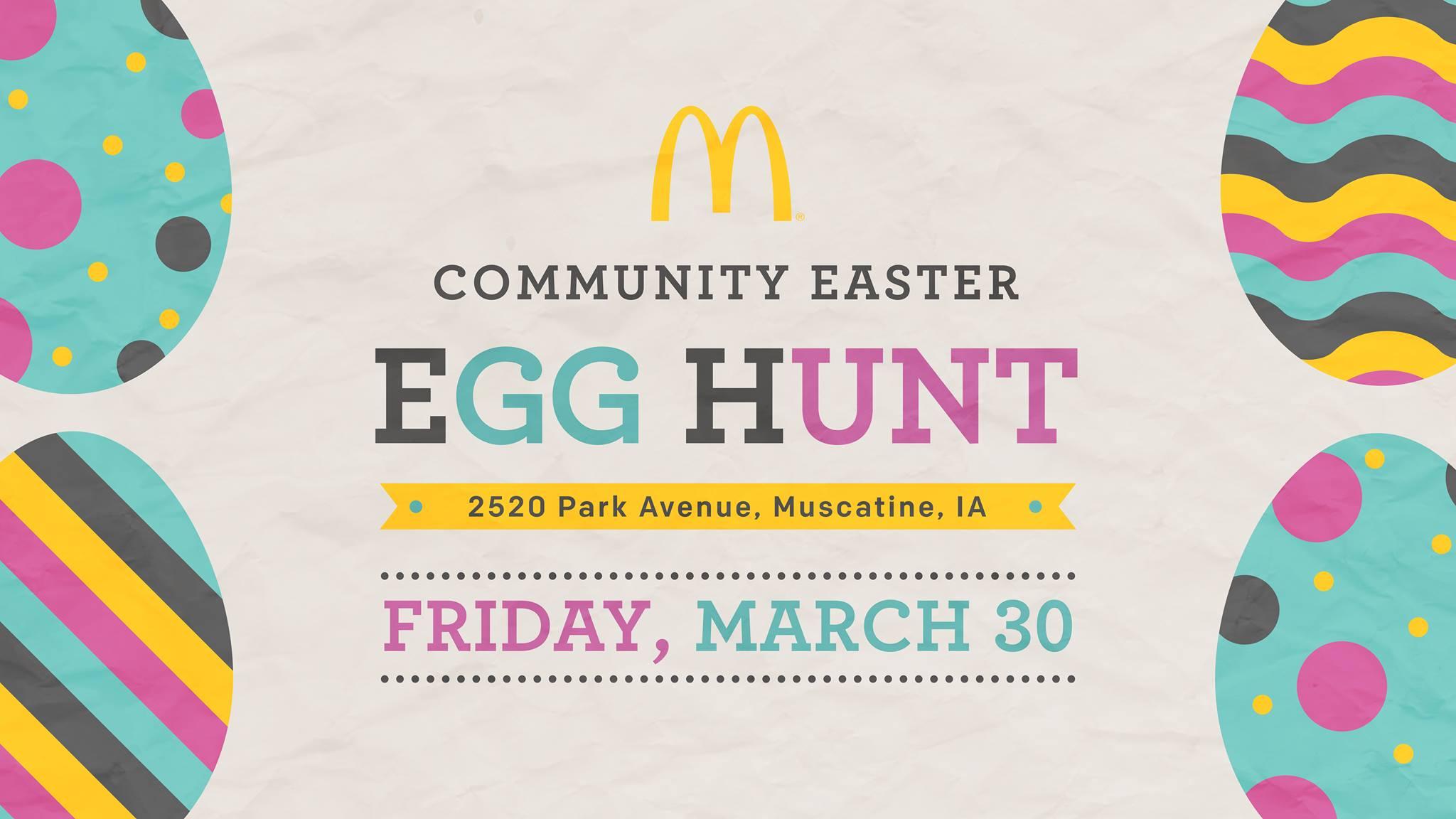 Muscatine Easter Egg Hunt