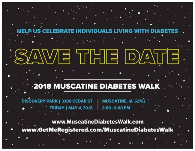Muscatine Diabetes Walk