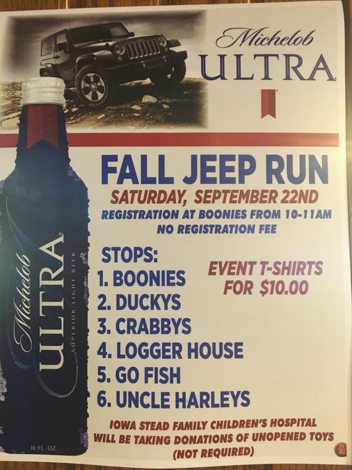 Boonies Fall Jeep Run