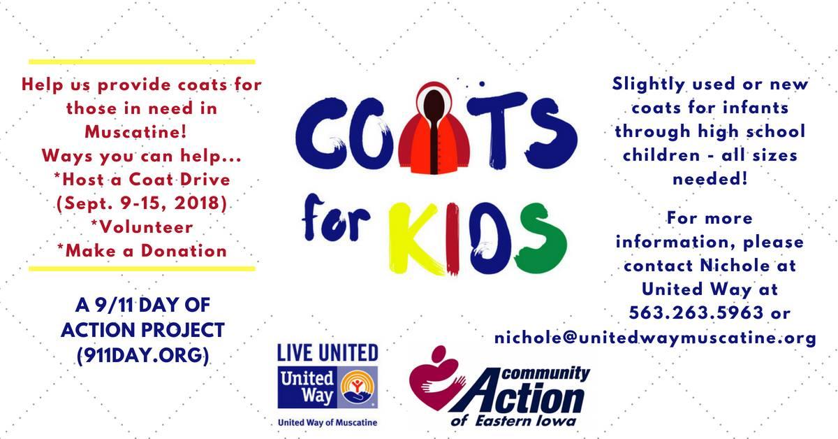 Coats for Kids Coat Drive