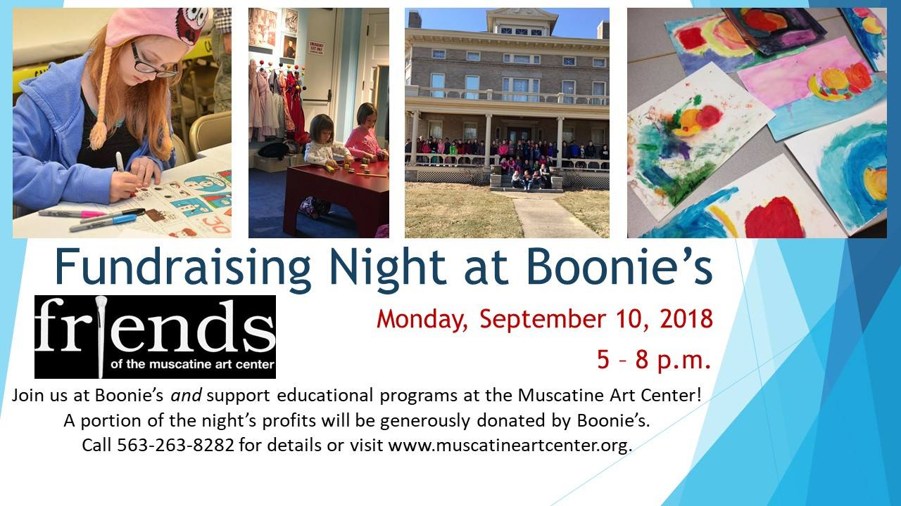 Fundraising Night at Boonies