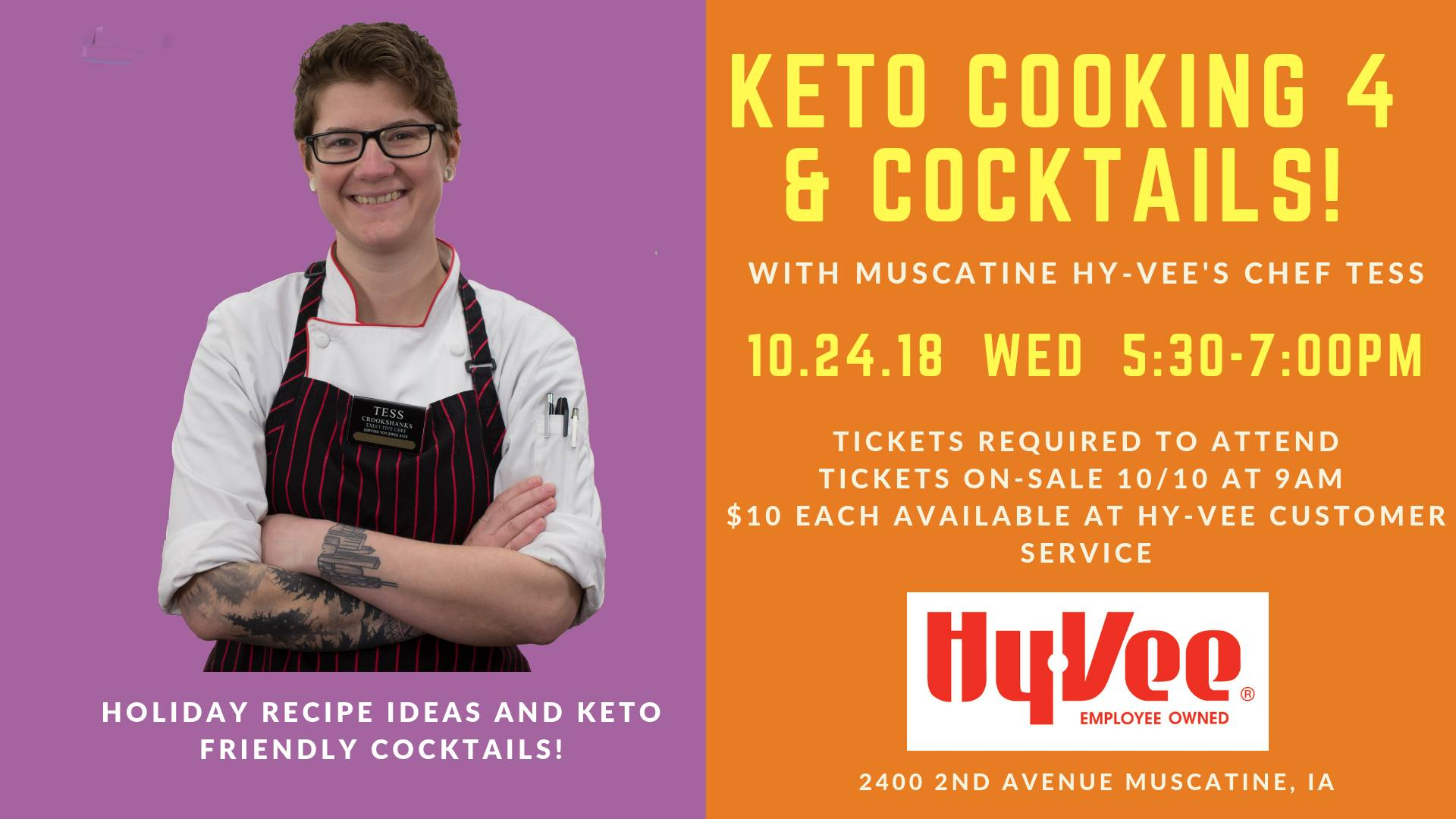 Keto Cooking and Cocktails