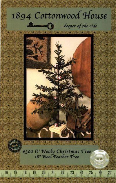 O Wooly Christmas Tree