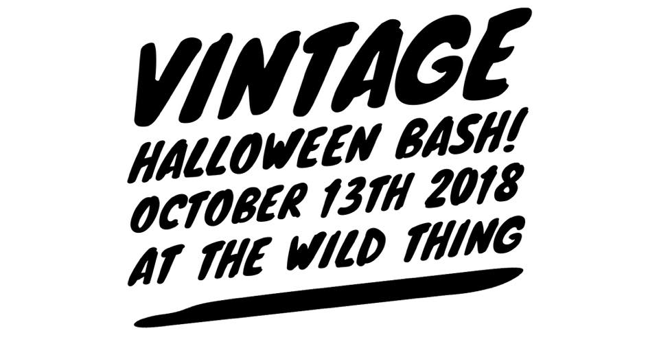 Vintage Halloween Bash