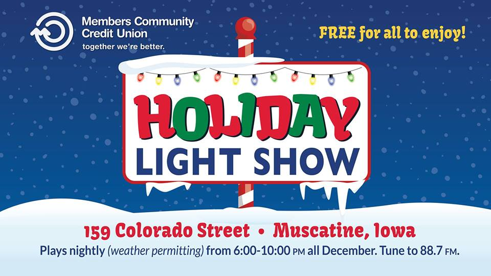 MCCU Holiday Light Show